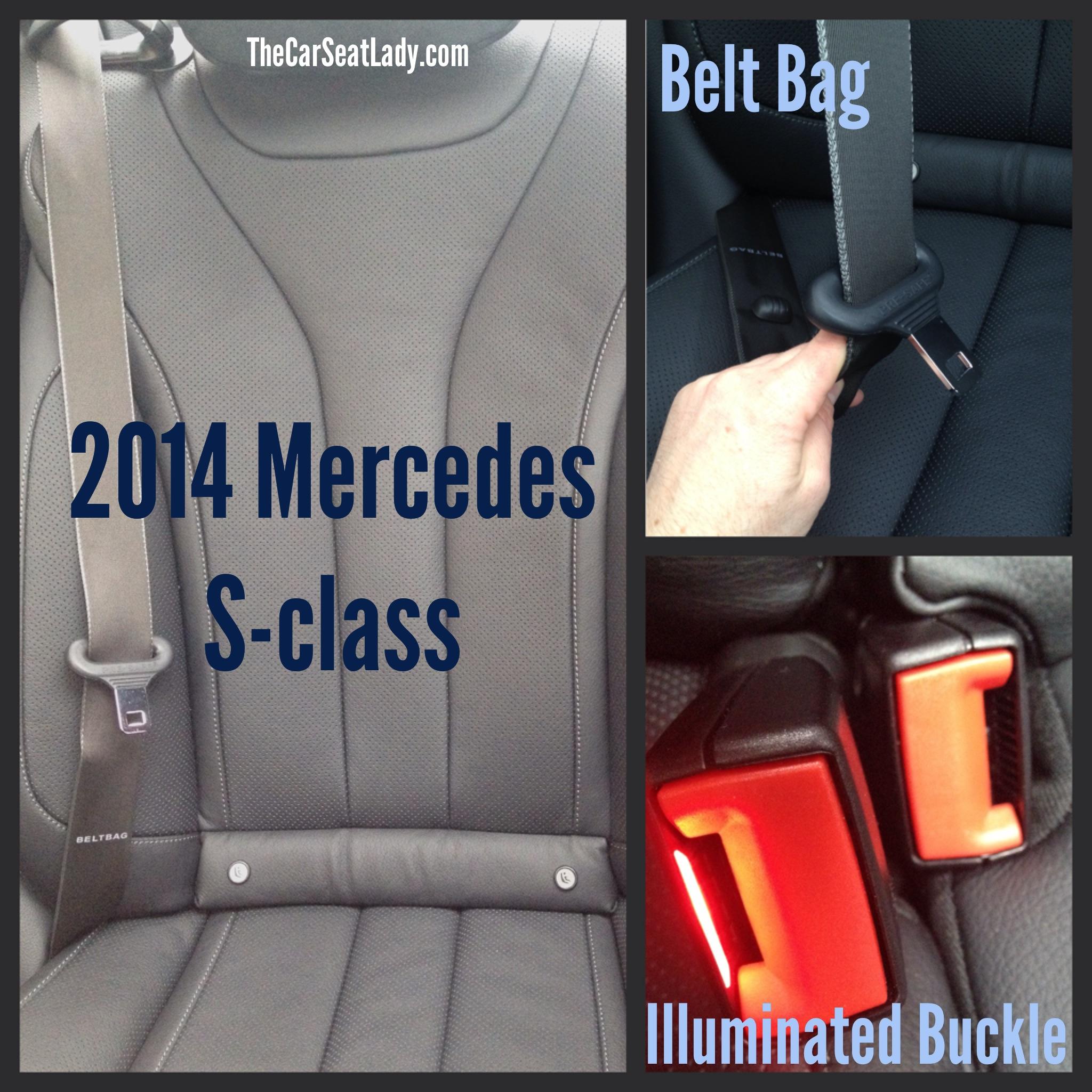 Mercedes Benz S-Class with Belt Bag