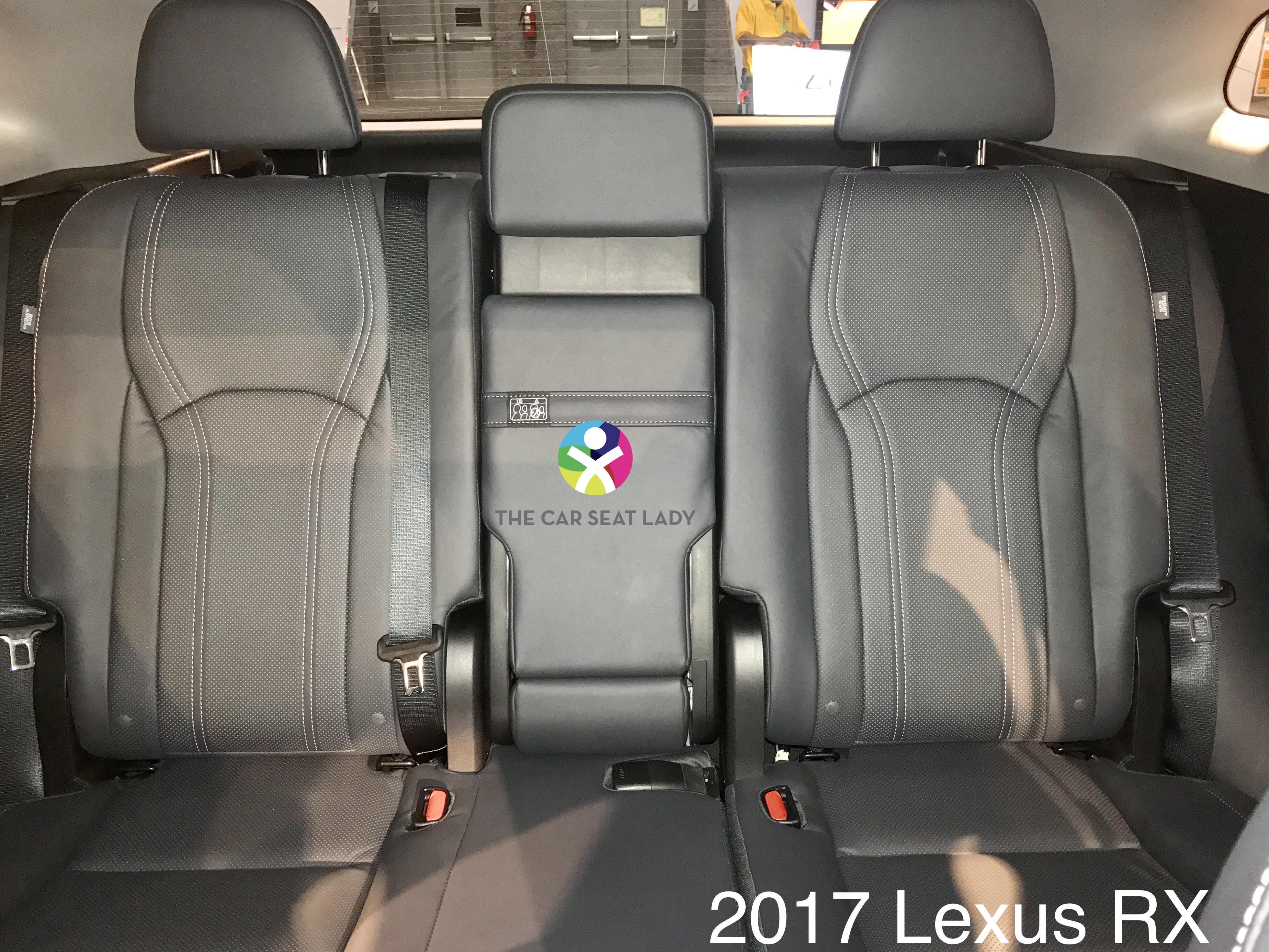 The Car Seat Lady Lexus Rx