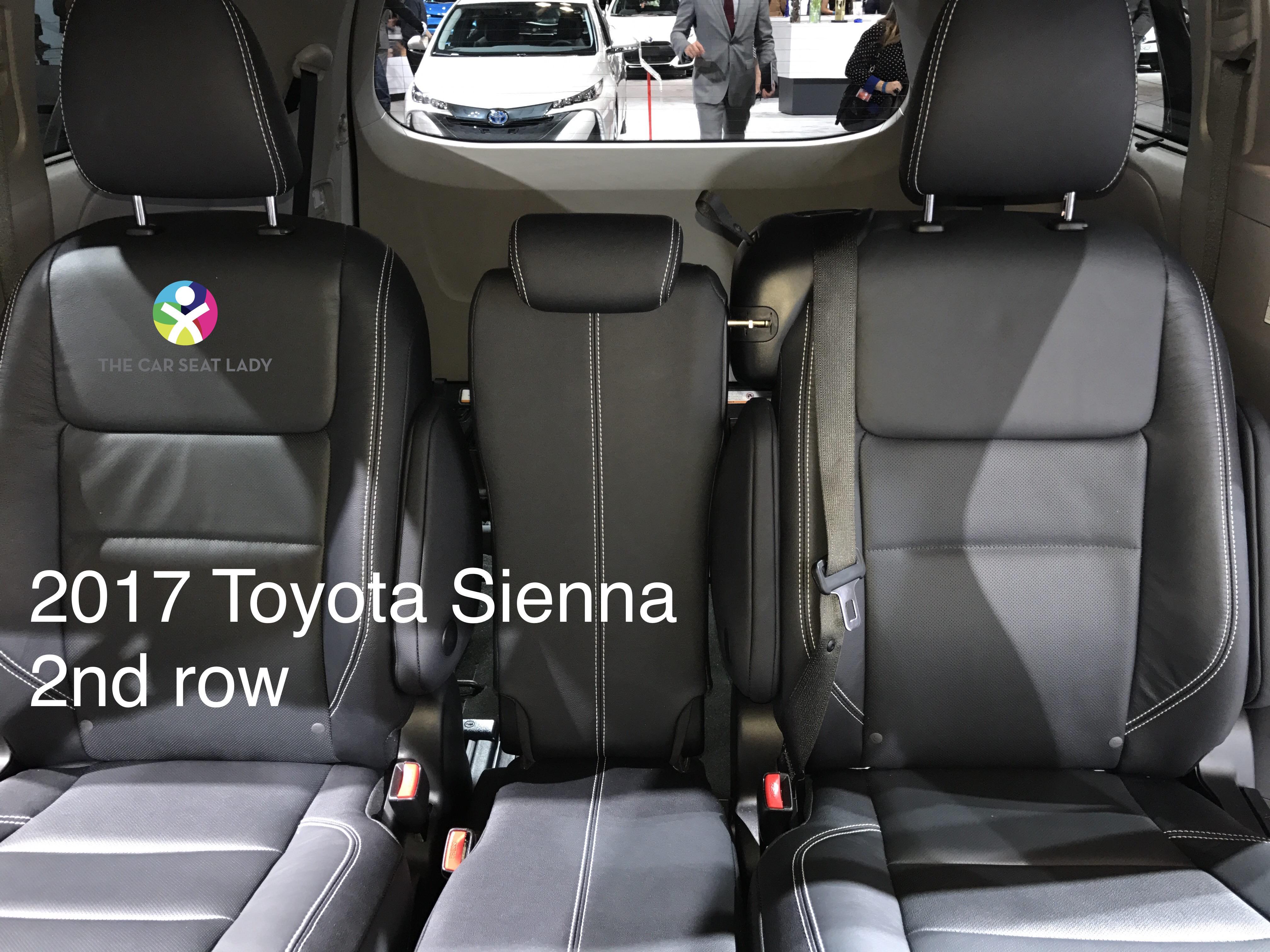 Sienna Car Seat Anchors
