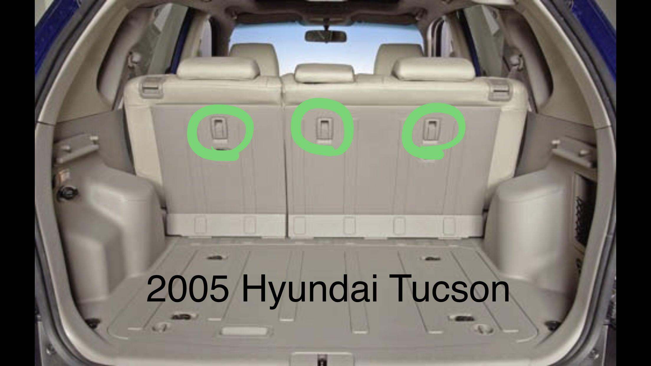 Hyundai Tucson Tethers Edmunds on Car Seat Back