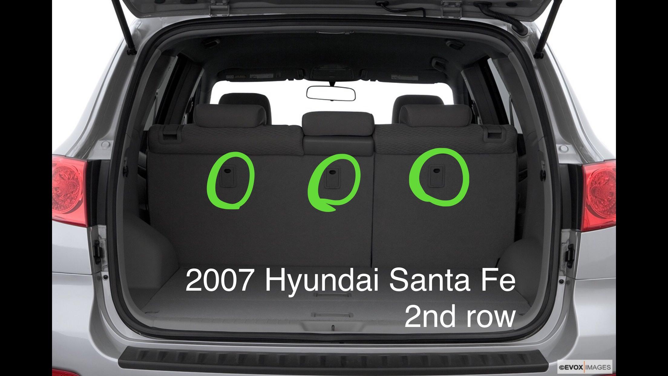 The Car Seat Lady Hyundai Santa Fe