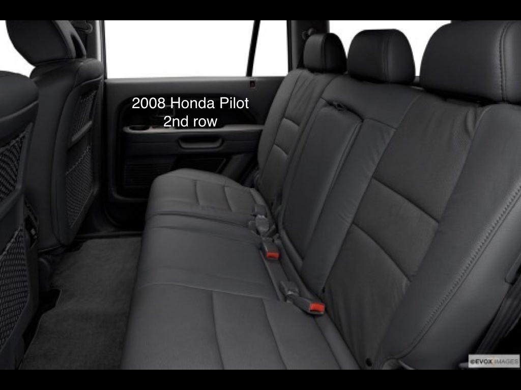 honda pilot three car seats. Black Bedroom Furniture Sets. Home Design Ideas