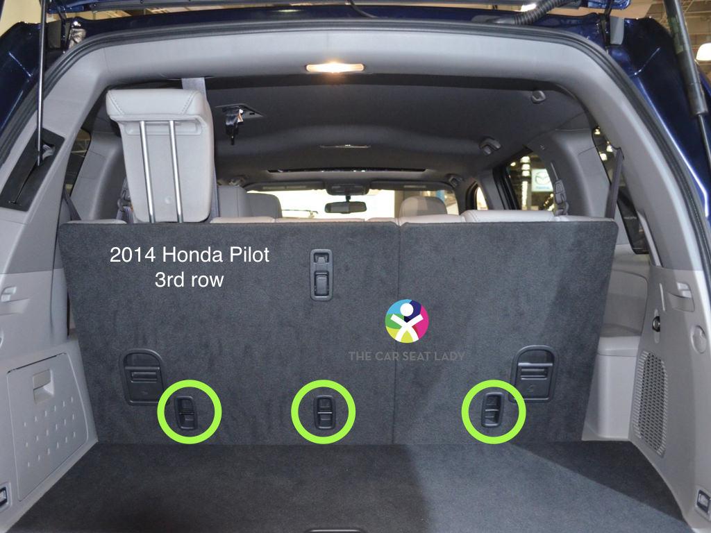 The car seat lady honda pilot for Honda pilot 3rd row seat