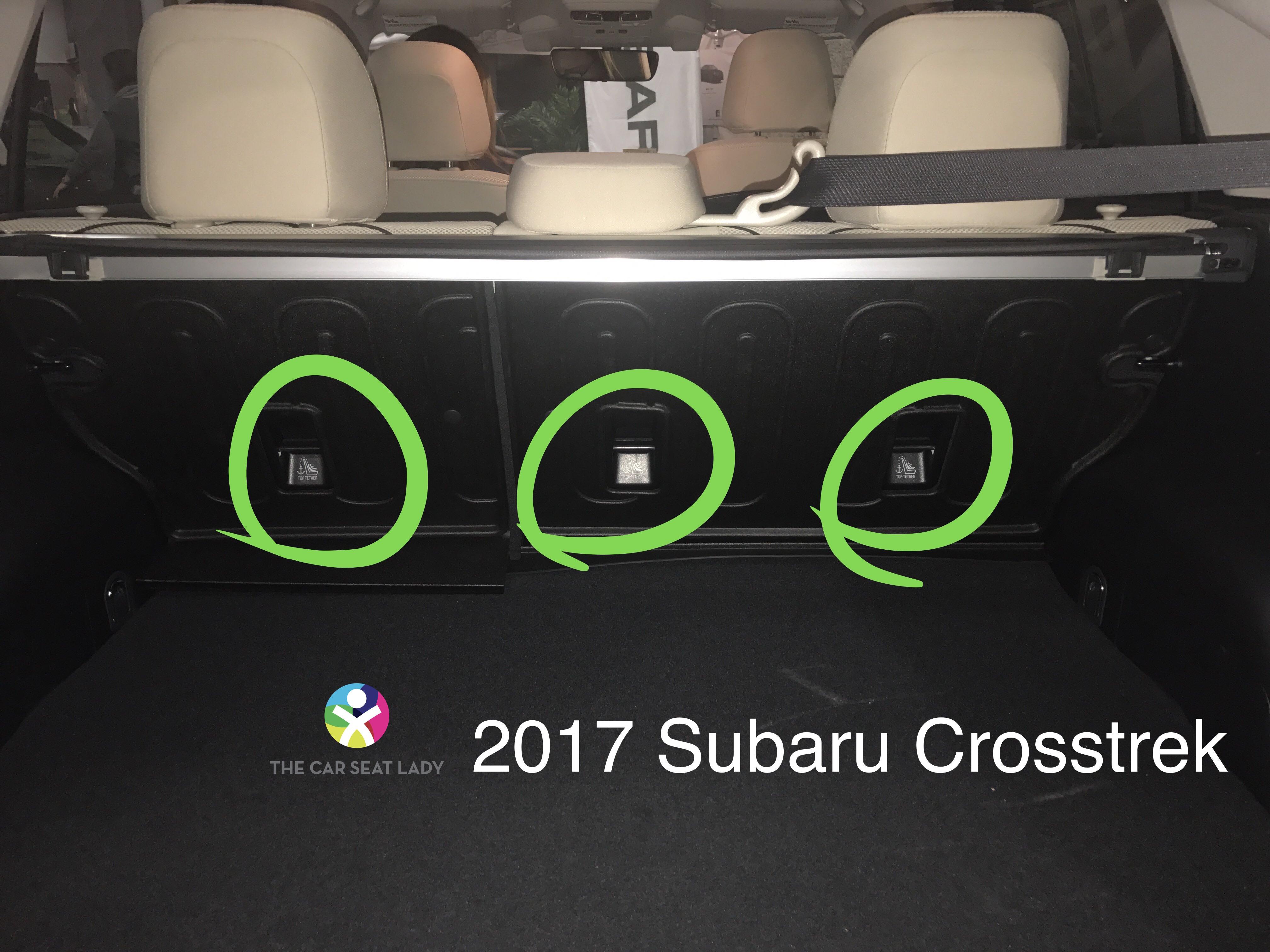 The Car Seat Lady – Subaru Crosstrek