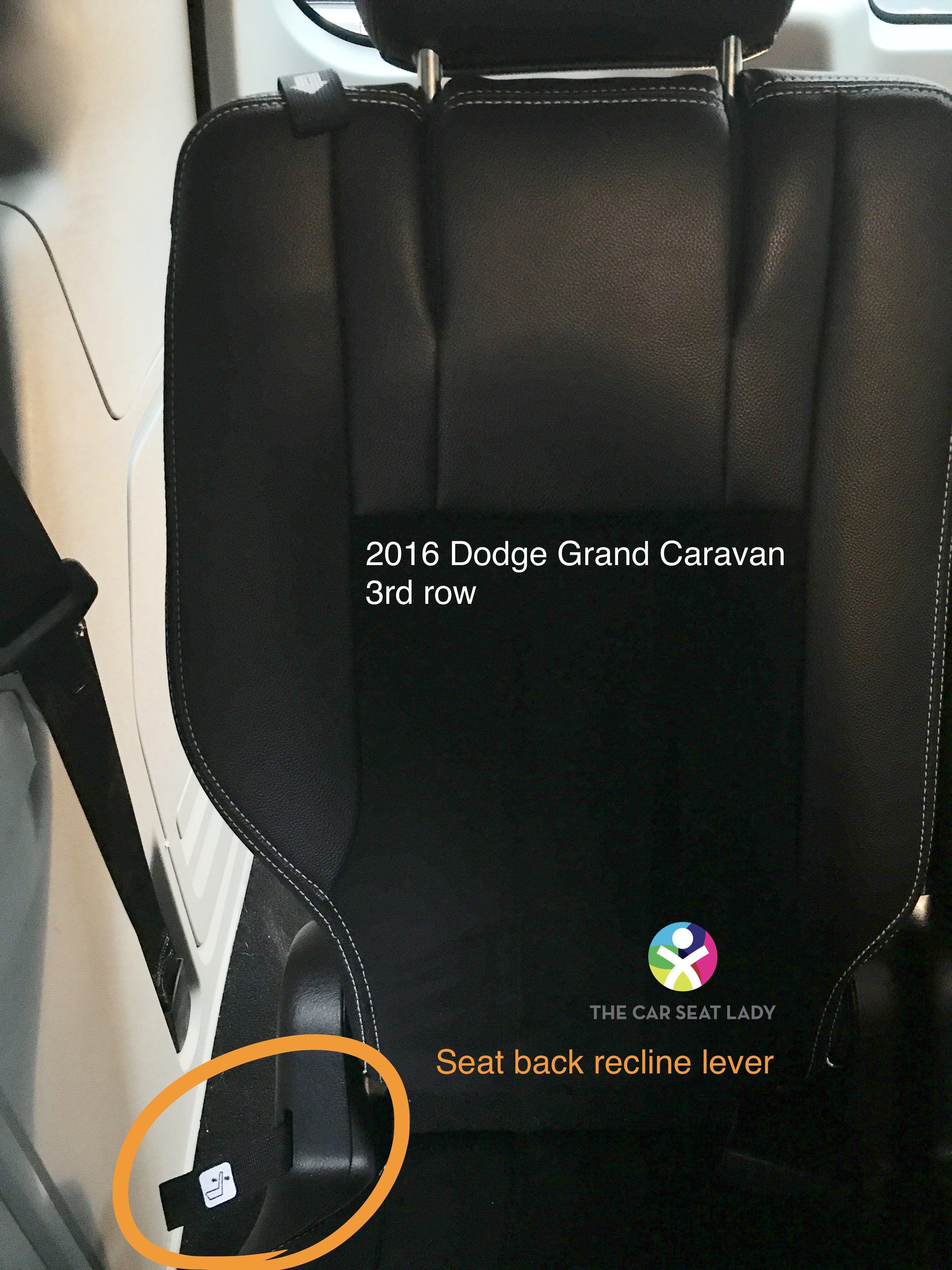The Car Seat LadyDodge Grand Caravan - The Car Seat Lady