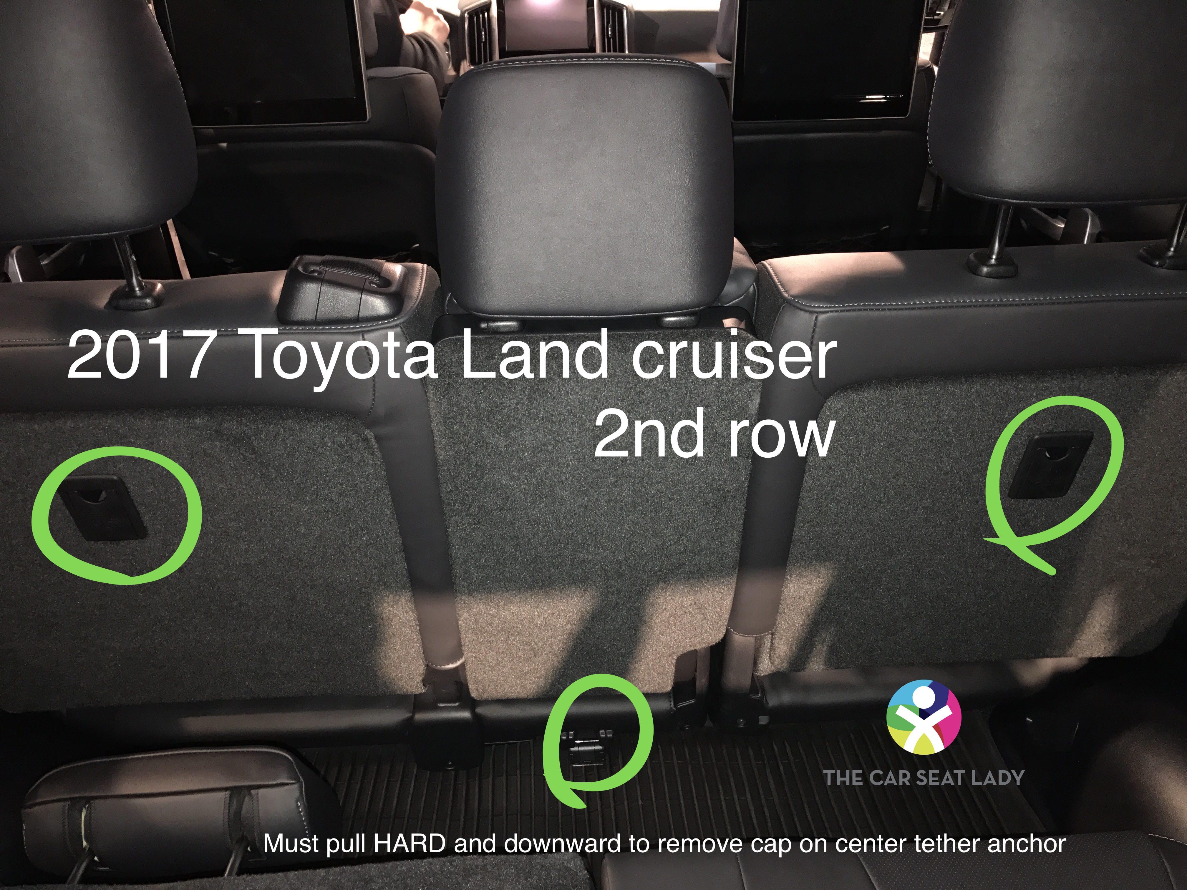 Toyota Land Cruiser 2017 >> The Car Seat LadyToyota Land Cruiser - The Car Seat Lady