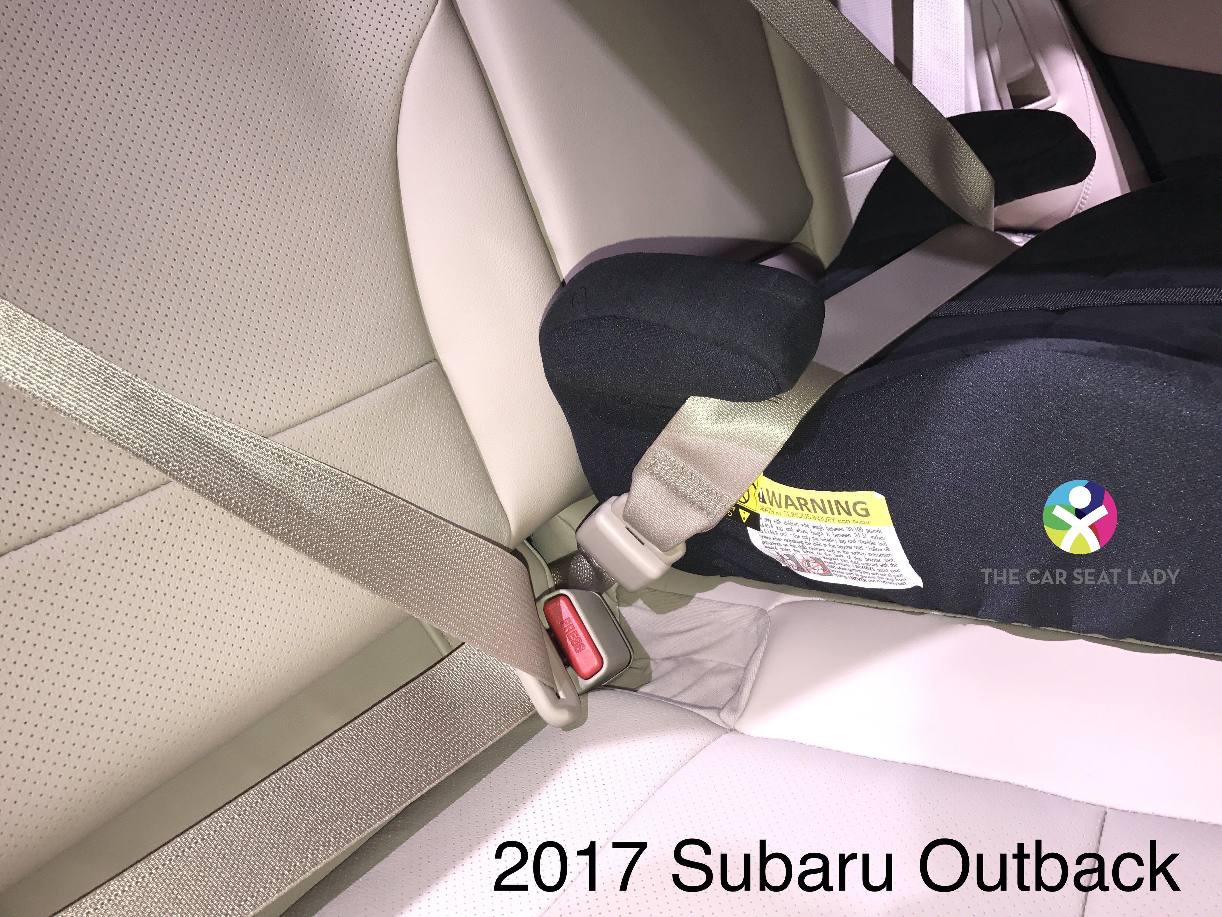 The Car Seat Lady – Subaru Outback