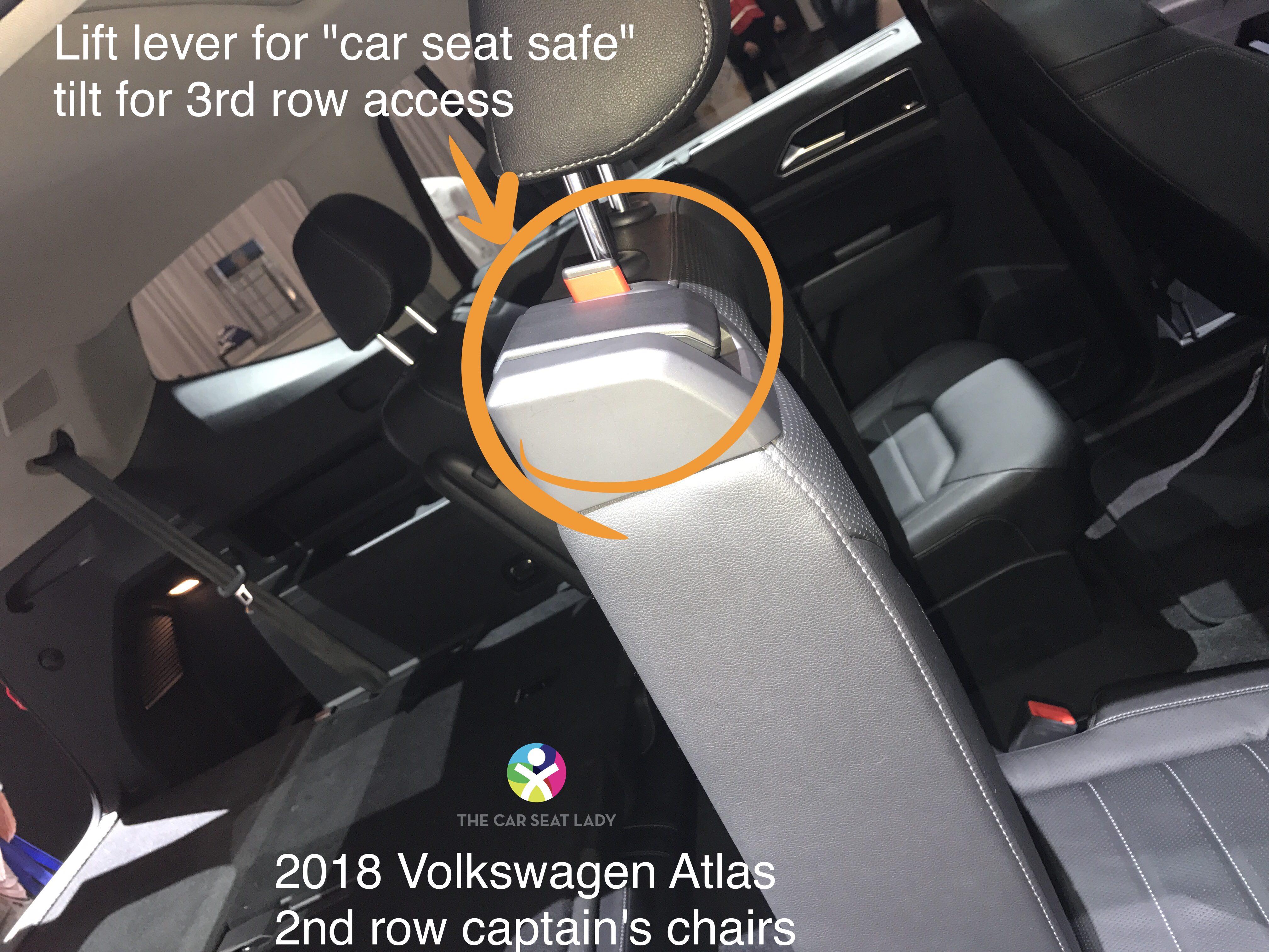 The Car Seat Lady Volkswagen Atlas