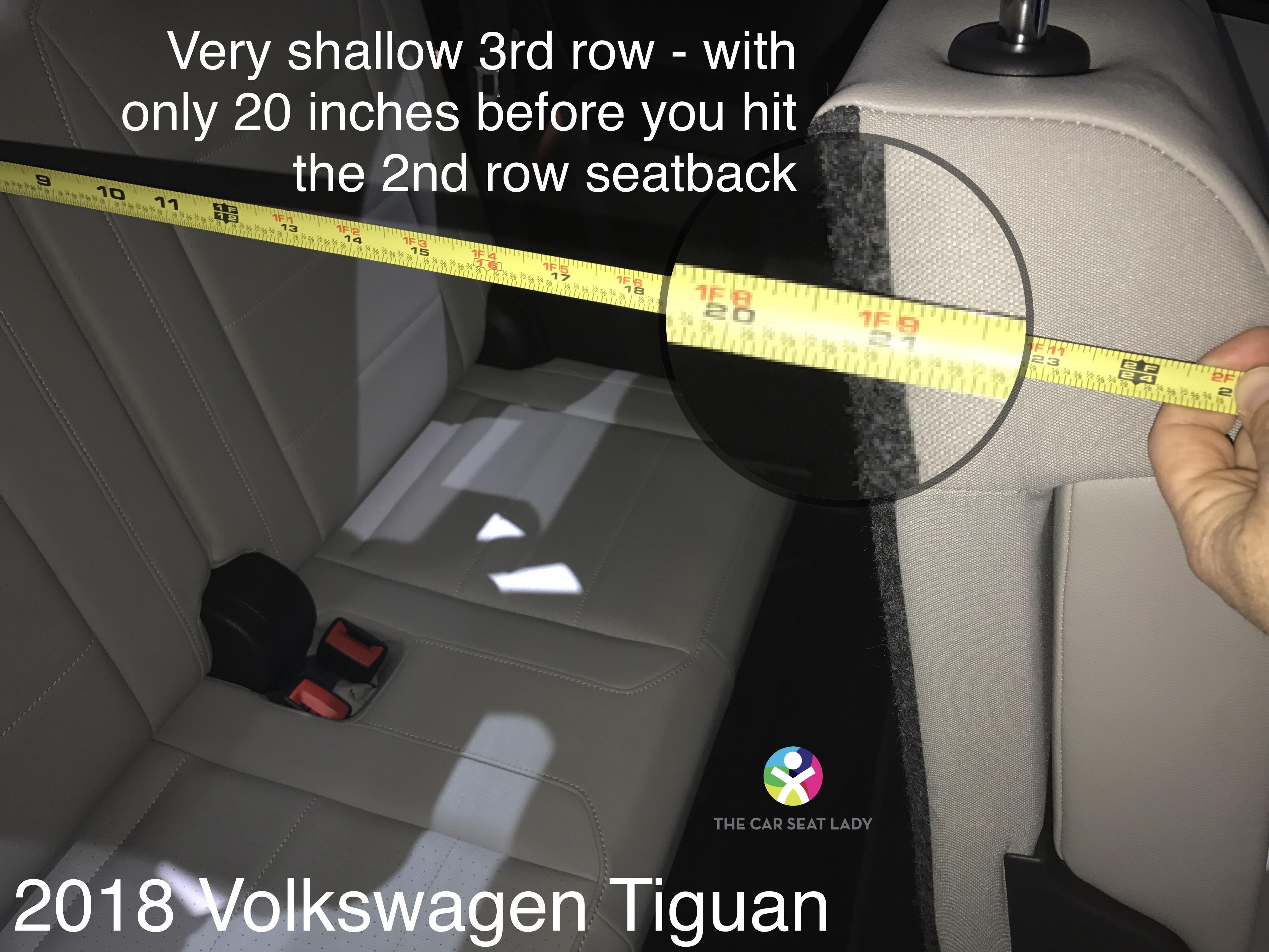 car seat lady volkswagen tiguan