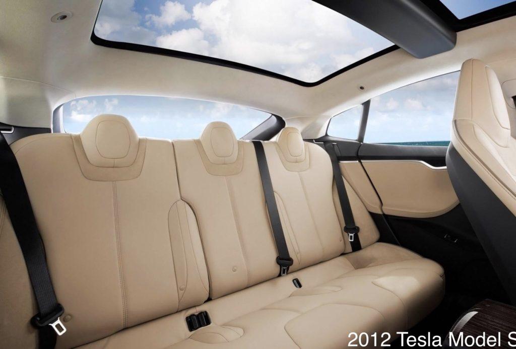 Tesla Model S Car Seat Tether