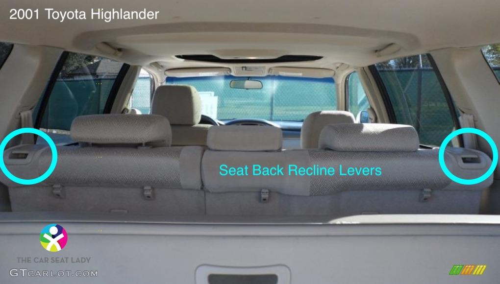 The Car Seat Ladytoyota Highlander The Car Seat Lady