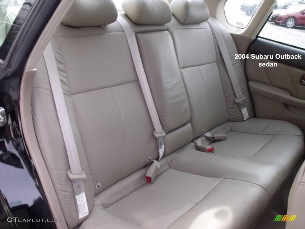 Subaru Legacy: Tether anchorage location
