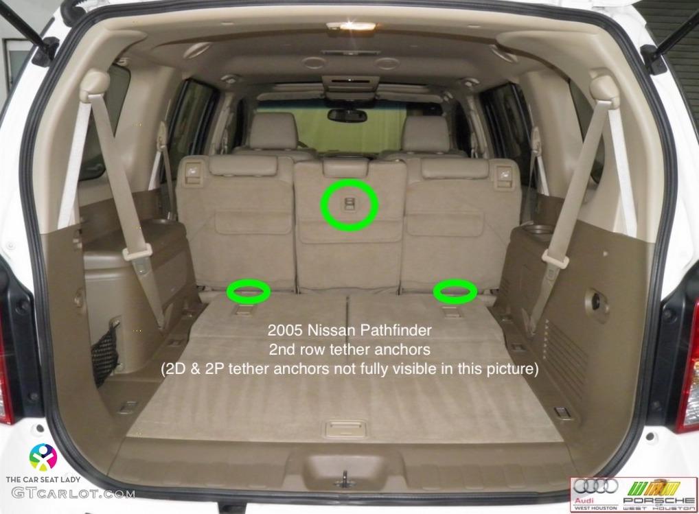 the car seat lady nissan pathfinder. Black Bedroom Furniture Sets. Home Design Ideas