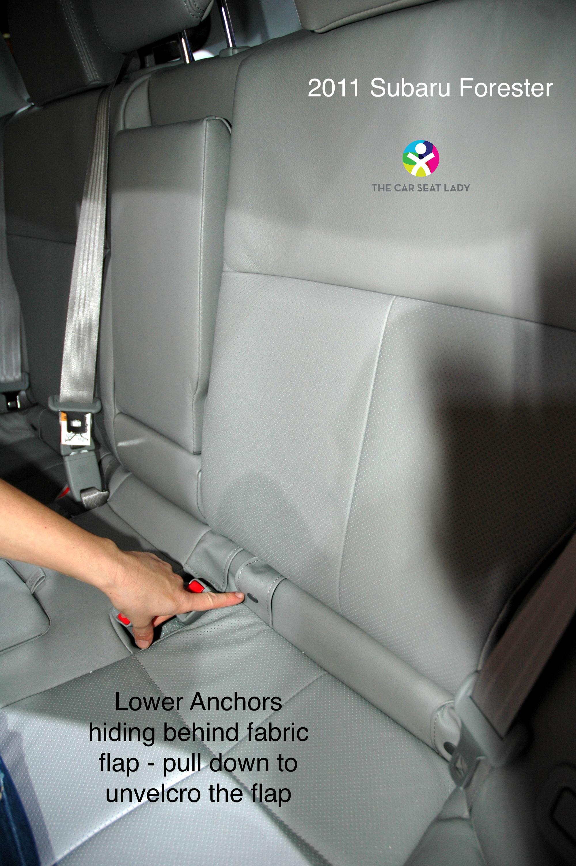 The Car Seat Lady Subaru Outback 1998 Interior 2010 2014
