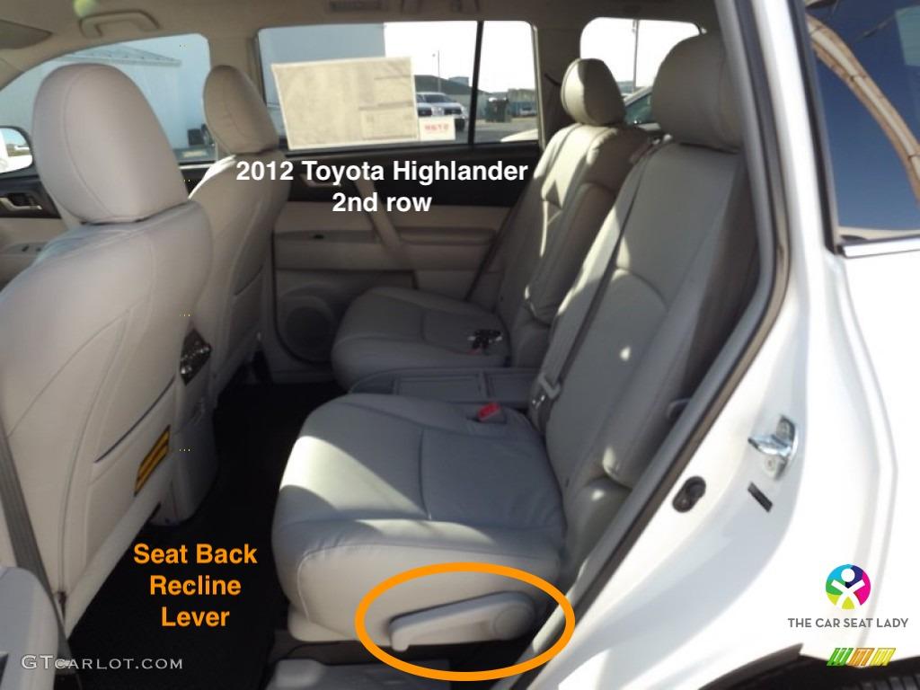 The Car Seat Lady Toyota Highlander