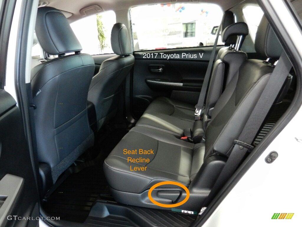 Prius V Car Seat Latch