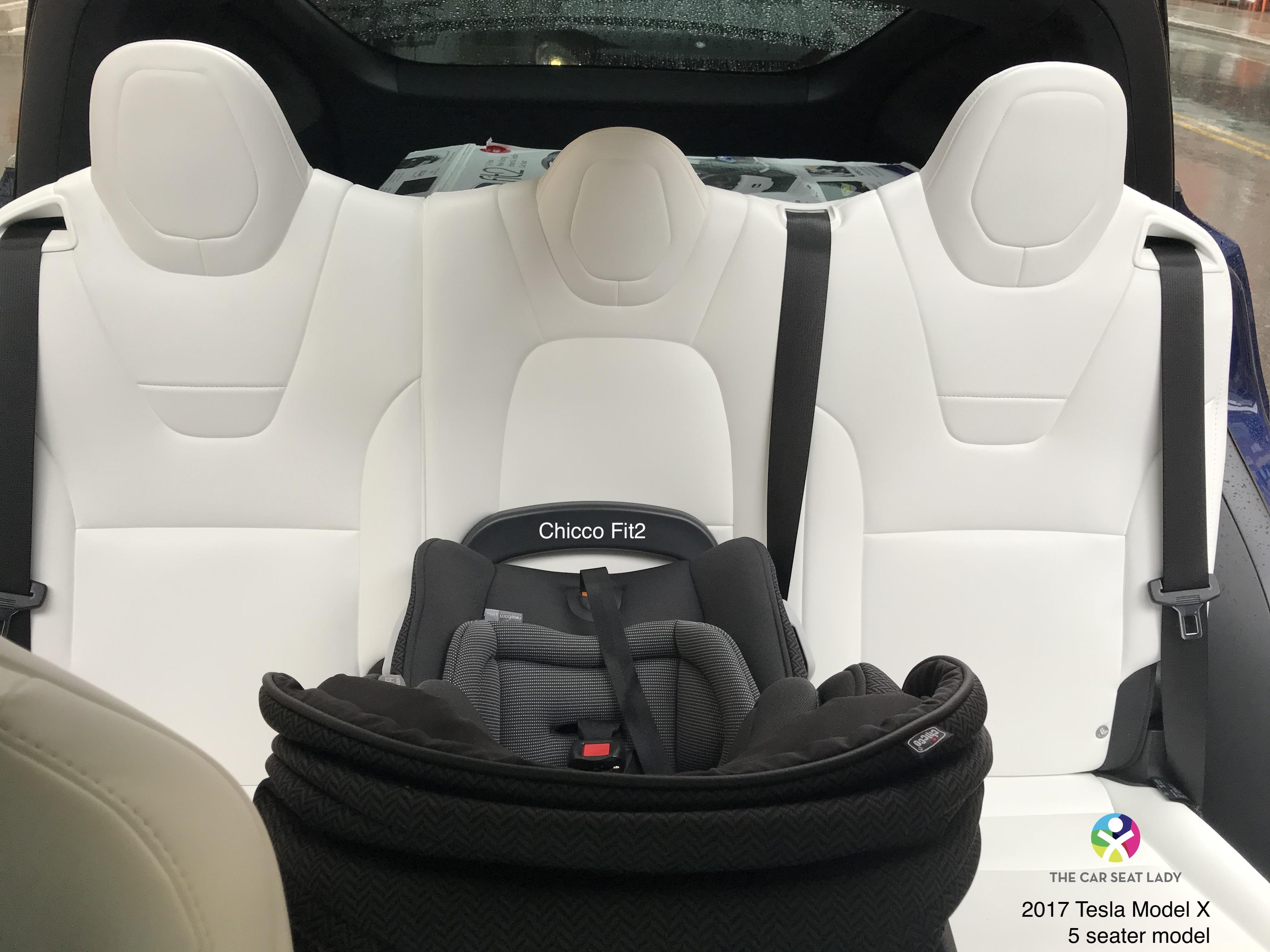 The Car Seat Lady Tesla Model X