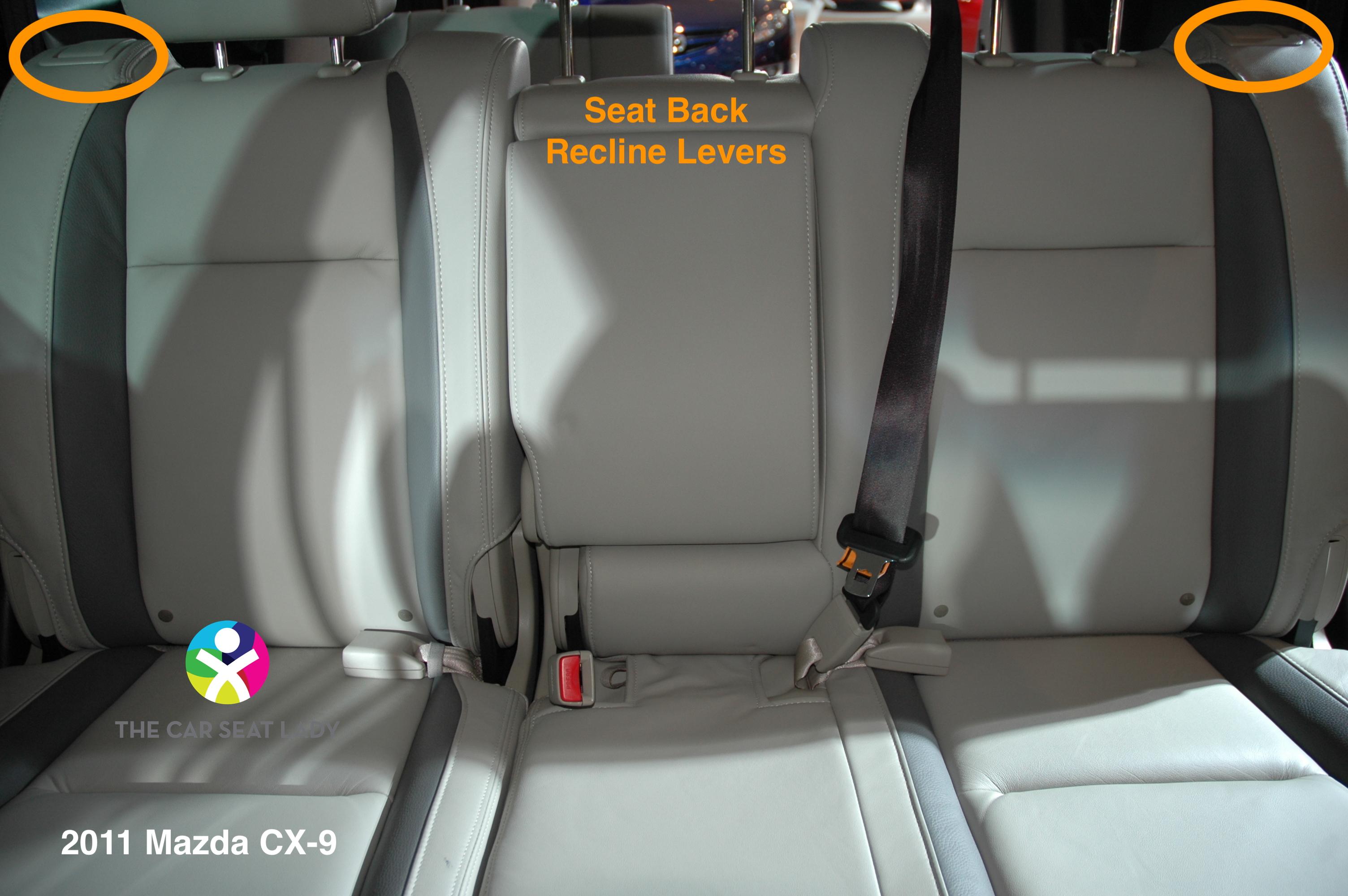 car seat lady mazda cx