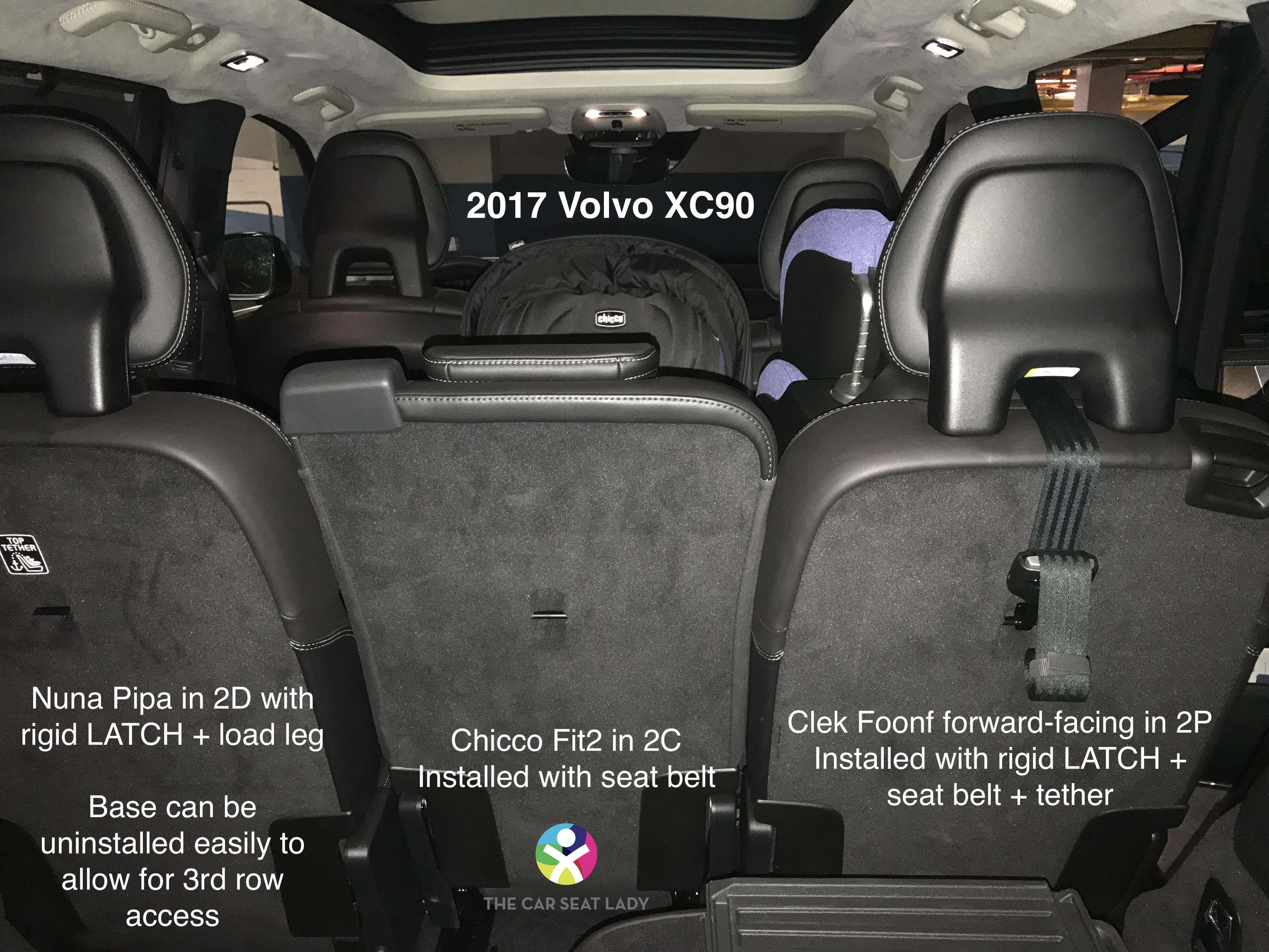 The Car Seat Lady Volvo Xc90