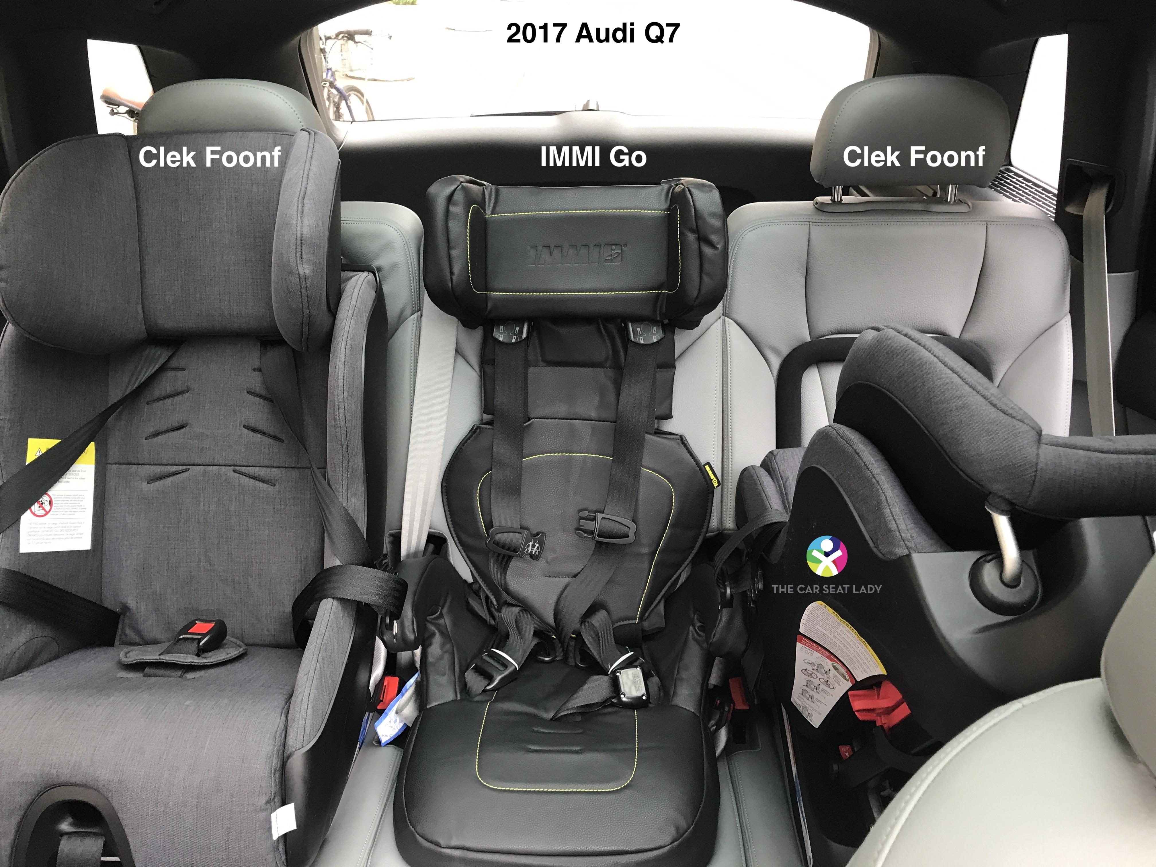 The Car Seat Lady – Audi Q7