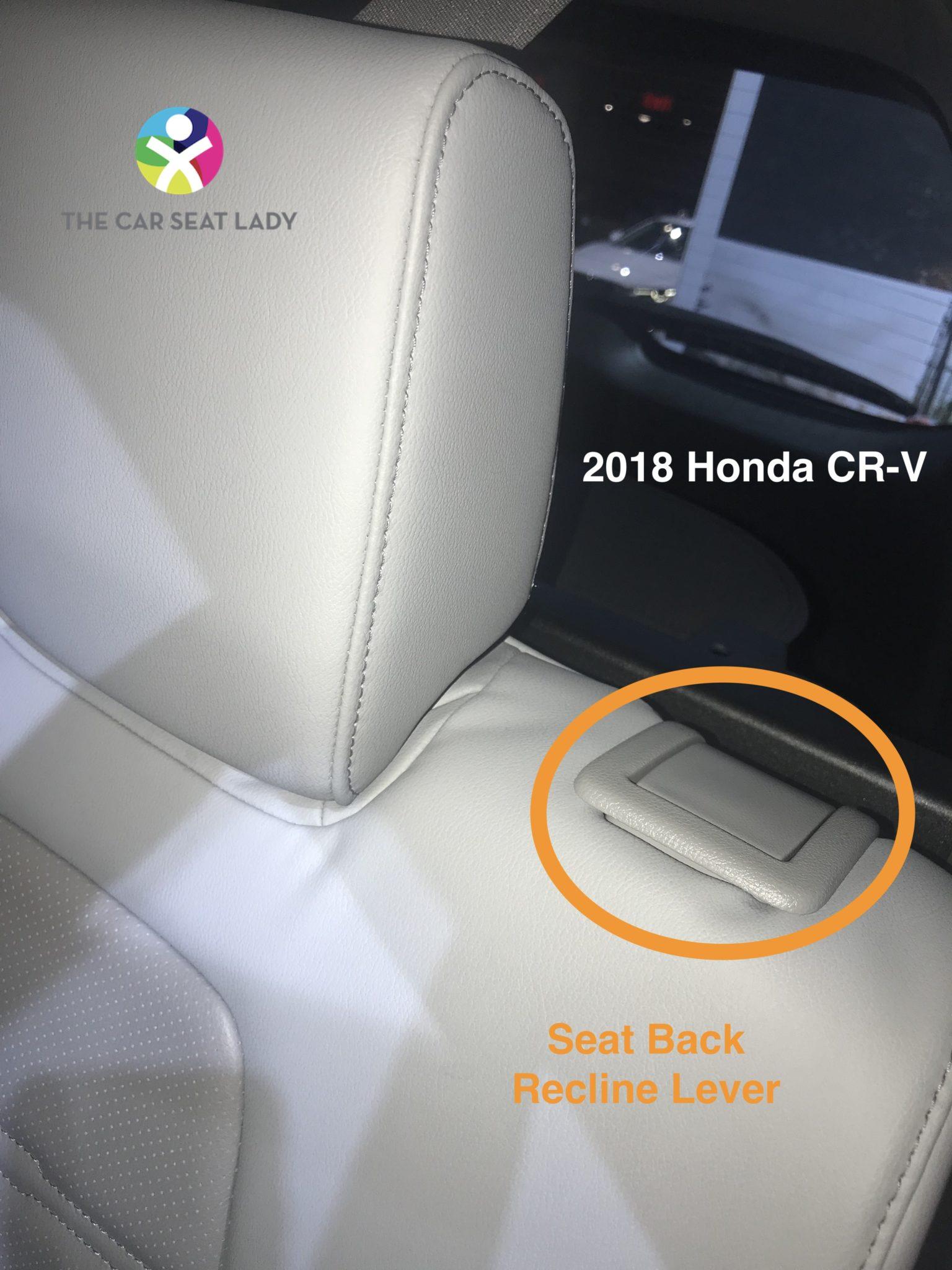 car seat lady honda cr