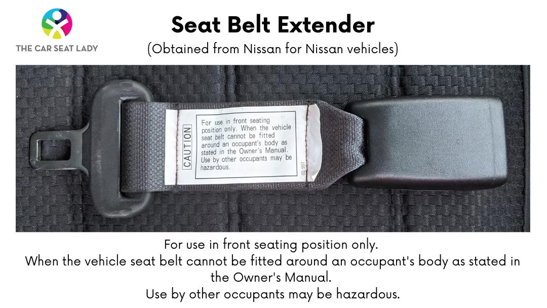 Nissan Seat Belt extender