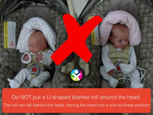 do not put u shaped roll around head.001