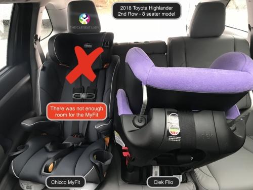 The Car Seat Ladytoyota Highlander 2018 The Car Seat Lady