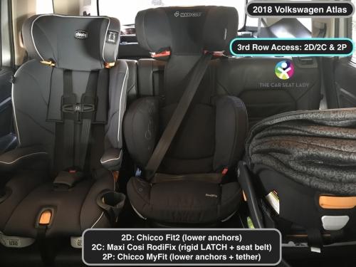 2018 Volkswagen Atlas 2D Fit2 2C RodiFix 2P MyFit
