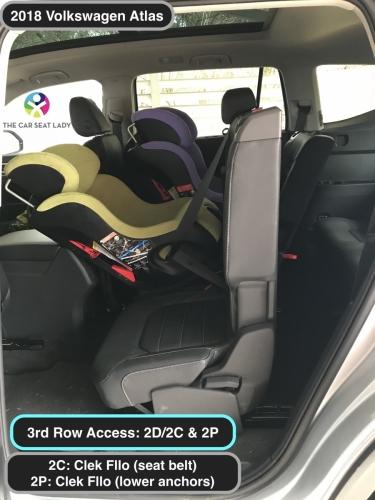2018 Volkswagen Atlas Clek Fllo RF 2C 2P showing 2D2C tilt