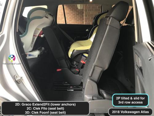 2018 Volkswagen Atlas E2F RF 2D Fllo RF 2C Foonf RF 3D 2P tilted