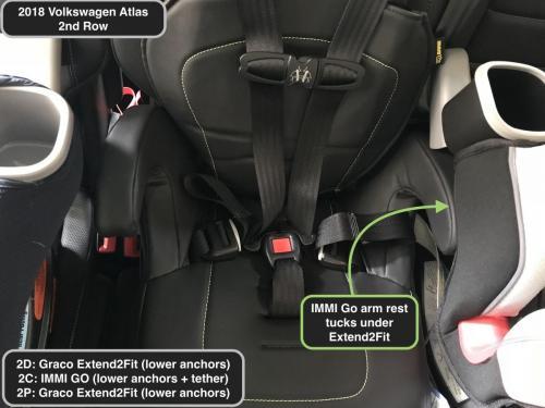 2018 Volkswagen Atlas w IMMI Go tucked under E2F