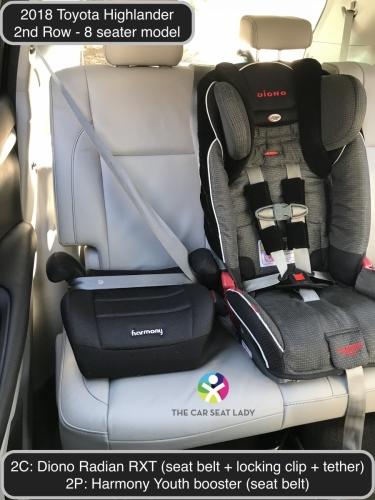 The Car Seat Lady Toyota Highlander 2018