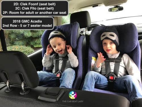 The Car Seat Ladygmc Acadia The Car Seat Lady